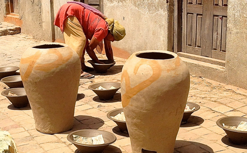 Potters helping potters in Nepal