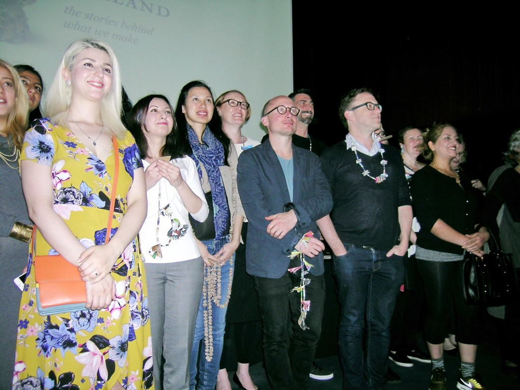 Speakers and artists at the NGV symposium